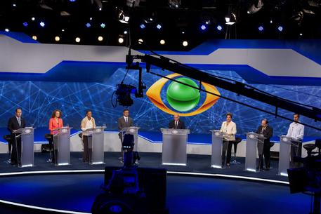 Brazilian presidential candidates debate